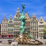 Verschillende bezienswaardigheden Antwerpen